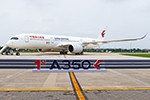 First A350 completed in China